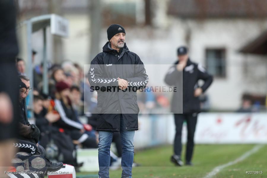 Fulvio Bifano, Bayernliga Nord 30.11.2019, SpVgg Bayern Hof, TSV Karlburg - Bild-ID: 2270873