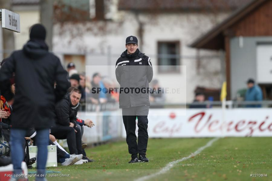 Markus Köhler, Bayernliga Nord 30.11.2019, SpVgg Bayern Hof, TSV Karlburg - Bild-ID: 2270874