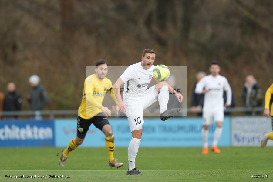 Manuel Römlein, Bayernliga Nord 30.11.2019, SpVgg Bayern Hof, TSV Karlburg - Bild-ID: 2270878