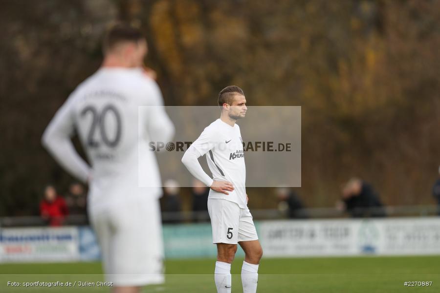 Marvin Schramm, Bayernliga Nord 30.11.2019, SpVgg Bayern Hof, TSV Karlburg - Bild-ID: 2270887