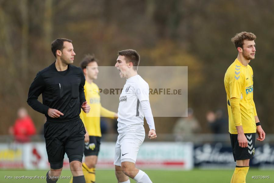 Tom Feulner, Andreas Rösch, Bayernliga Nord 30.11.2019, SpVgg Bayern Hof, TSV Karlburg - Bild-ID: 2270895