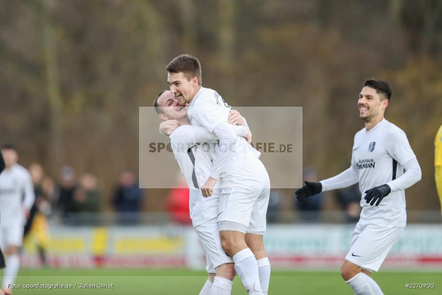Josef Burghard, Andreas Rösch, Bayernliga Nord 30.11.2019, SpVgg Bayern Hof, TSV Karlburg - Bild-ID: 2270900