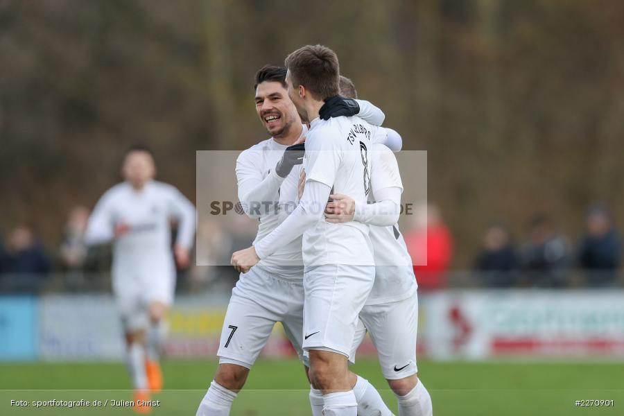 Steffen Bachmann, Josef Burghard, Andreas Rösch, Bayernliga Nord 30.11.2019, SpVgg Bayern Hof, TSV Karlburg - Bild-ID: 2270901