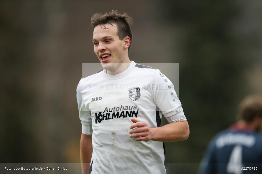 Marcel Frank, 01.12.2019, Kreisliga Würzburg, SG Hettstadt, TSV Karlburg II - Bild-ID: 2270985