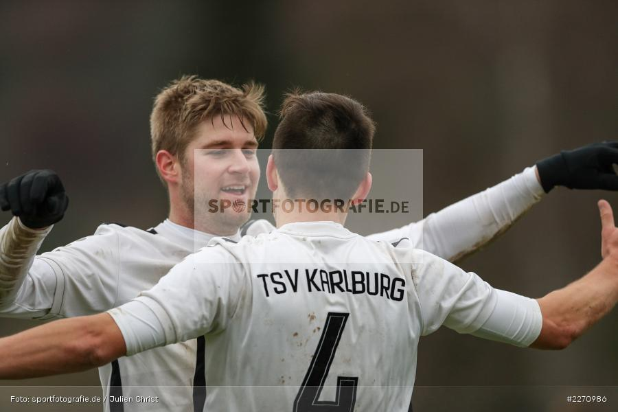 Marcel Frank, 01.12.2019, Kreisliga Würzburg, SG Hettstadt, TSV Karlburg II - Bild-ID: 2270986