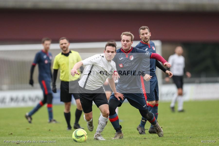 Jan Gehr, Marcel Frank, 01.12.2019, Kreisliga Würzburg, SG Hettstadt, TSV Karlburg II - Bild-ID: 2270990