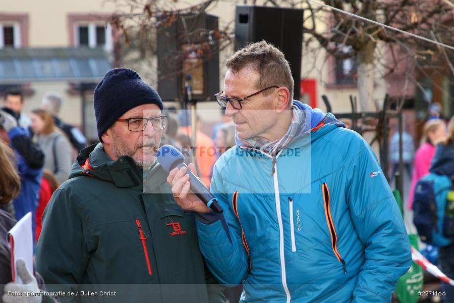 Günther Felbinger, Michael Maasz, 11.01.2020, LG Main-Spessart, LG Karlstadt, 30. Staustufenlauf Karlstadt - Bild-ID: 2271466