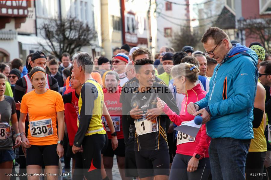 Filimon Habtemikael, 11.01.2020, LG Main-Spessart, LG Karlstadt, 30. Staustufenlauf Karlstadt - Bild-ID: 2271470