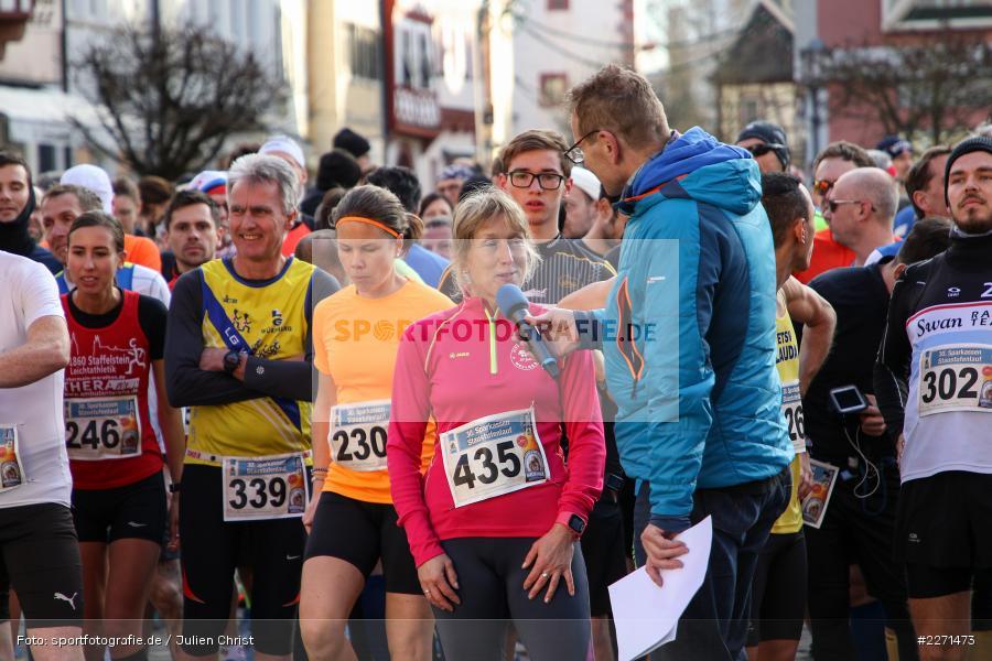 Günther Felbinger, Carmen Förster, 11.01.2020, LG Main-Spessart, LG Karlstadt, 30. Staustufenlauf Karlstadt - Bild-ID: 2271473