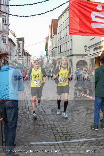 Andreas Lenz, Jan Diekow, 11.01.2020, LG Main-Spessart, LG Karlstadt, 30. Staustufenlauf Karlstadt - Bild-ID: 2271537