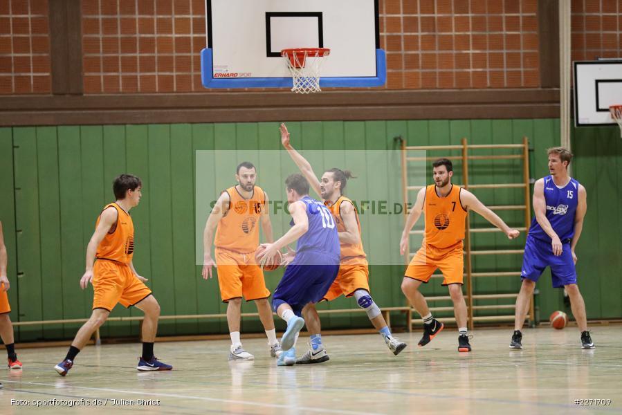 Chris Indrichovsky, Matti Weißhaar, Basketball, Bezirksoberliga Ufr, 25.01.2020, TSV Grombühl 2, TSV Karlstadt - Bild-ID: 2271709