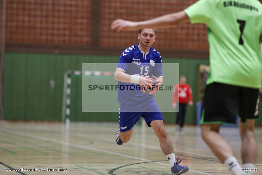 Jonas Holaschke, 09.02.2020, Bezirksliga Staffel Nord, DJK Nüdlingen, TSV Karlstadt - Bild-ID: 2272453