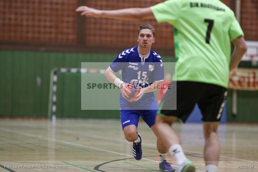 Jonas Holaschke, 09.02.2020, Bezirksliga Staffel Nord, DJK Nüdlingen, TSV Karlstadt - Bild-ID: 2272454
