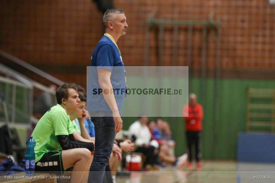Harry Rauch, 09.02.2020, Bezirksliga Staffel Nord, DJK Nüdlingen, TSV Karlstadt - Bild-ID: 2272474