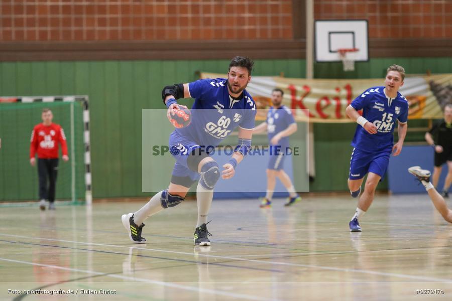 Daniel Born, 09.02.2020, Bezirksliga Staffel Nord, DJK Nüdlingen, TSV Karlstadt - Bild-ID: 2272476