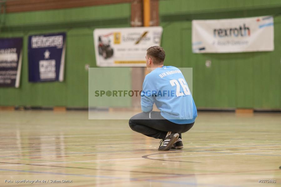 Manuel Bott, 09.02.2020, Bezirksliga Staffel Nord, DJK Nüdlingen, TSV Karlstadt - Bild-ID: 2272482