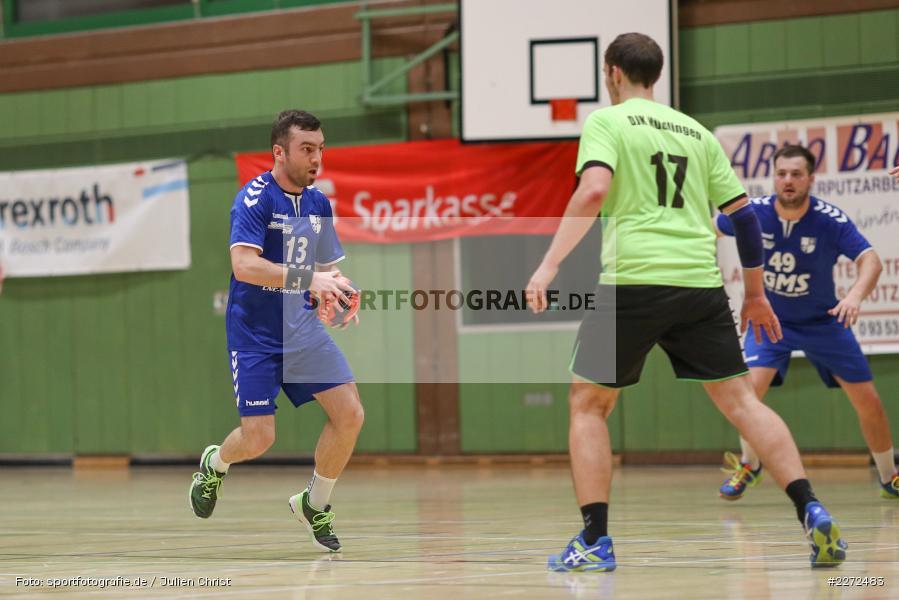 Felix Fuchs, 09.02.2020, Bezirksliga Staffel Nord, DJK Nüdlingen, TSV Karlstadt - Bild-ID: 2272483