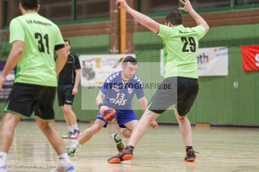 Jonas Rendl, Felix Fuchs, 09.02.2020, Bezirksliga Staffel Nord, DJK Nüdlingen, TSV Karlstadt - Bild-ID: 2272503