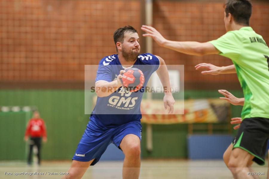 Sebastian Reiss, 09.02.2020, Bezirksliga Staffel Nord, DJK Nüdlingen, TSV Karlstadt - Bild-ID: 2272504