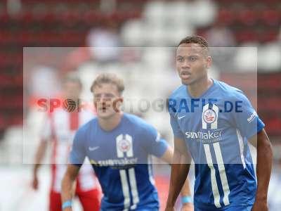 Fotos von FC Würzburger Kickers - FC Hansa Rostock auf sportfotografie