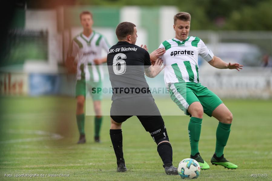 Robin Schmitt, Niklas Scherer, Kreisfreundschaftsspiele, 26.08.2020, DJK Büchold, FV Karlstadt - Bild-ID: 2277673