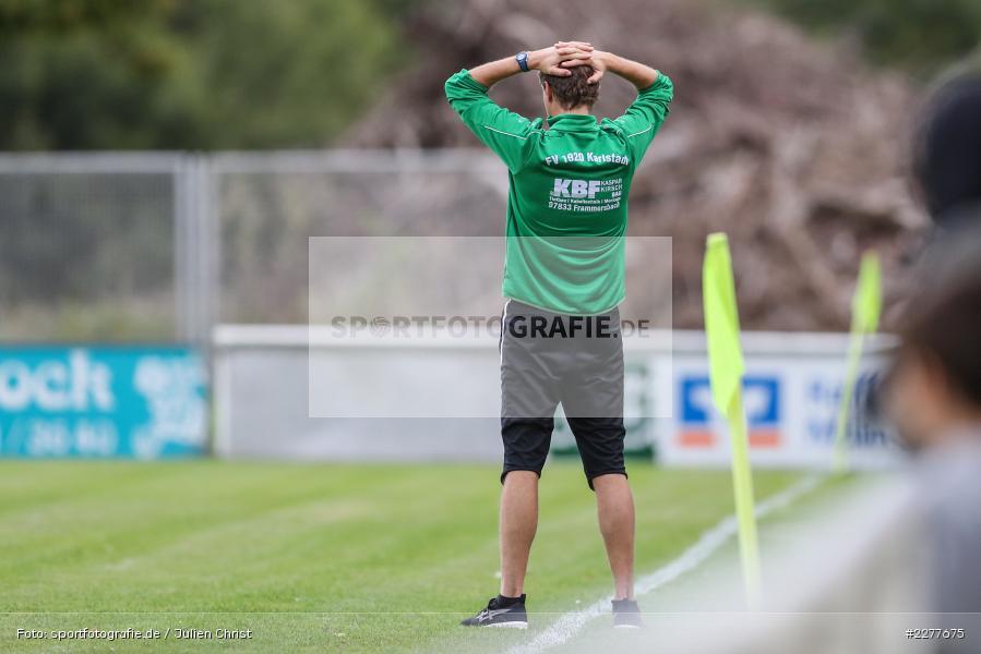 Trainer, Jens Fischer, Kreisfreundschaftsspiele, 26.08.2020, DJK Büchold, FV Karlstadt - Bild-ID: 2277675