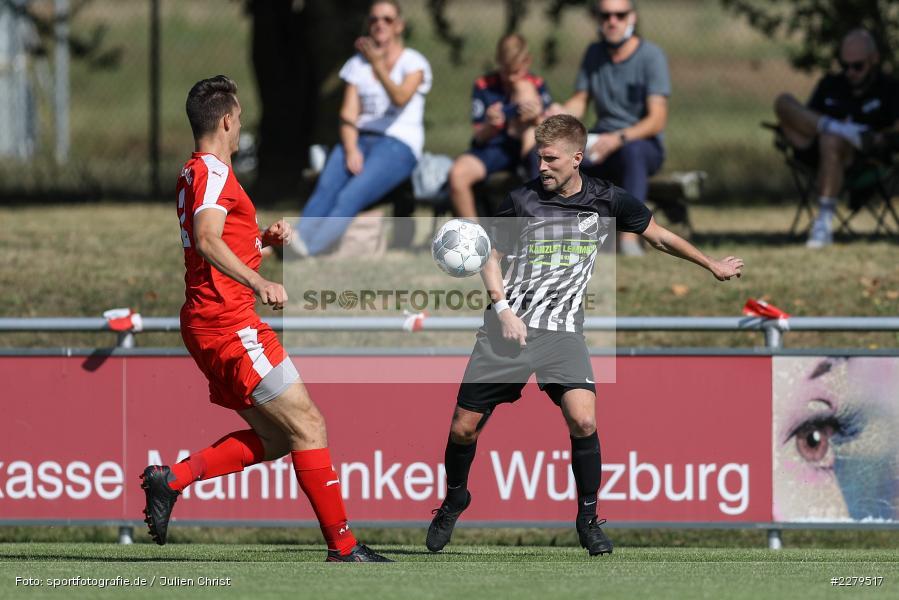 Niklas Zahn, Philipp Gößwein, TV Wasserlos, TSV Retzbach, Bezirksliga Unterfranken West, 20.09.2020 - Bild-ID: 2279517