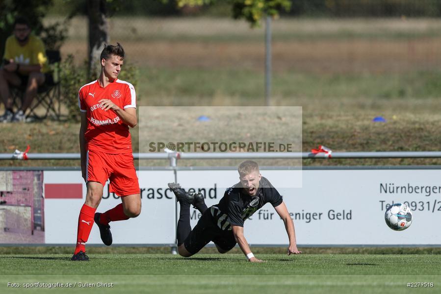 Niklas Zahn, Philipp Gößwein, TV Wasserlos, TSV Retzbach, Bezirksliga Unterfranken West, 20.09.2020 - Bild-ID: 2279518