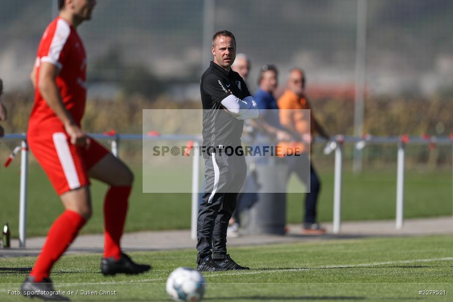 Trainer, Carsten Lanik, TV Wasserlos, TSV Retzbach, Bezirksliga Unterfranken West, 20.09.2020 - Bild-ID: 2279521
