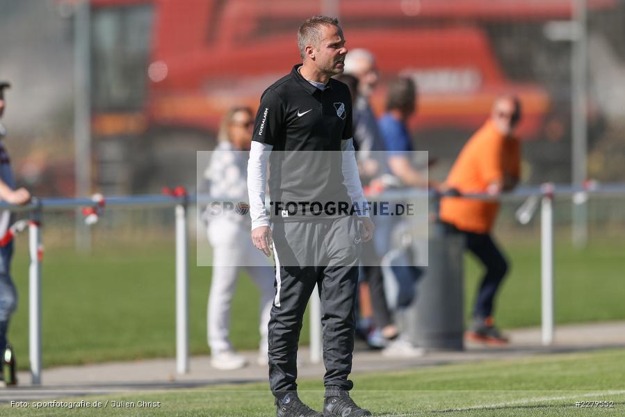Carsten Lanik, Trainer, TV Wasserlos, TSV Retzbach, Bezirksliga Unterfranken West, 20.09.2020 - Bild-ID: 2279552