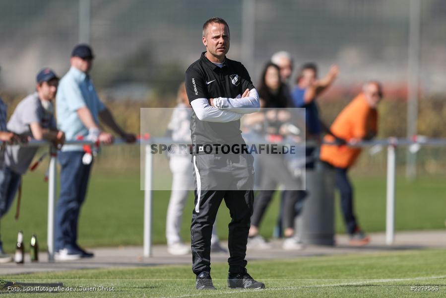 Carsten Lanik, Trainer, TV Wasserlos, TSV Retzbach, Bezirksliga Unterfranken West, 20.09.2020 - Bild-ID: 2279563
