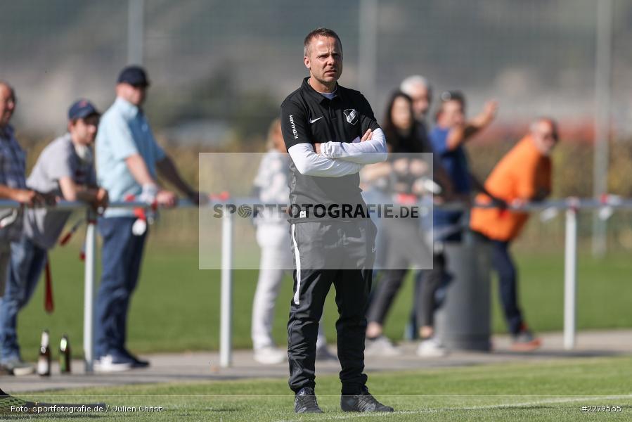 Carsten Lanik, Trainer, TV Wasserlos, TSV Retzbach, Bezirksliga Unterfranken West, 20.09.2020 - Bild-ID: 2279565