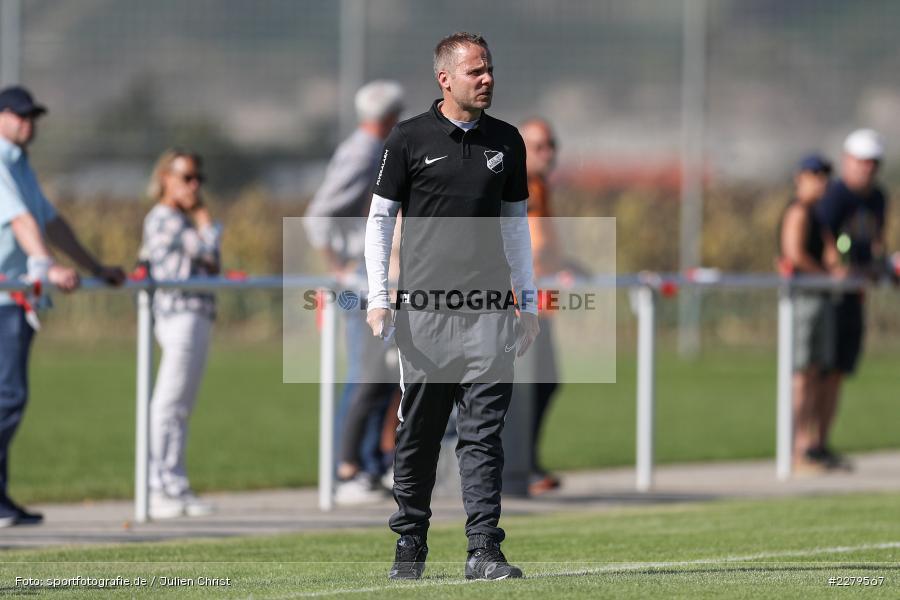 Carsten Lanik, Trainer, TV Wasserlos, TSV Retzbach, Bezirksliga Unterfranken West, 20.09.2020 - Bild-ID: 2279567