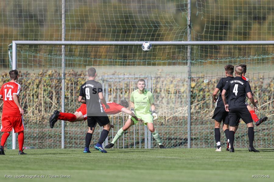 Felix Kühnlein, Michael Uftring, TV Wasserlos, TSV Retzbach, Bezirksliga Unterfranken West, 20.09.2020 - Bild-ID: 2279568