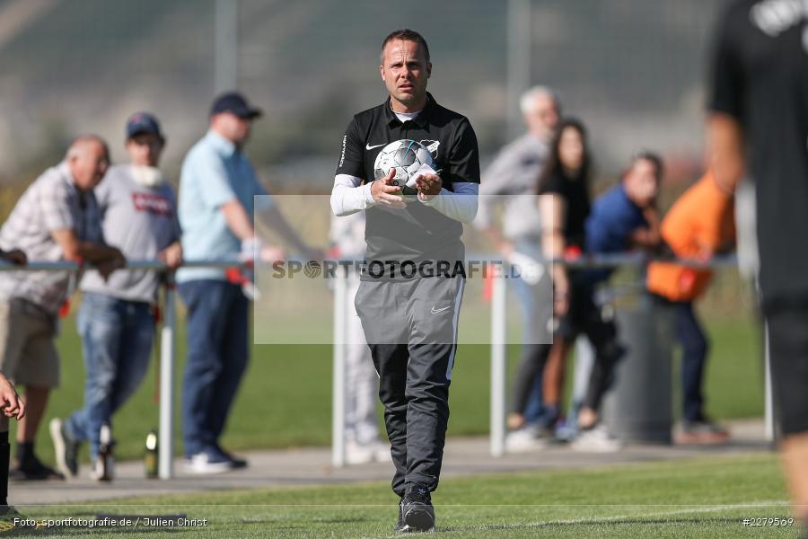 Carsten Lanik, Trainer, TV Wasserlos, TSV Retzbach, Bezirksliga Unterfranken West, 20.09.2020 - Bild-ID: 2279569