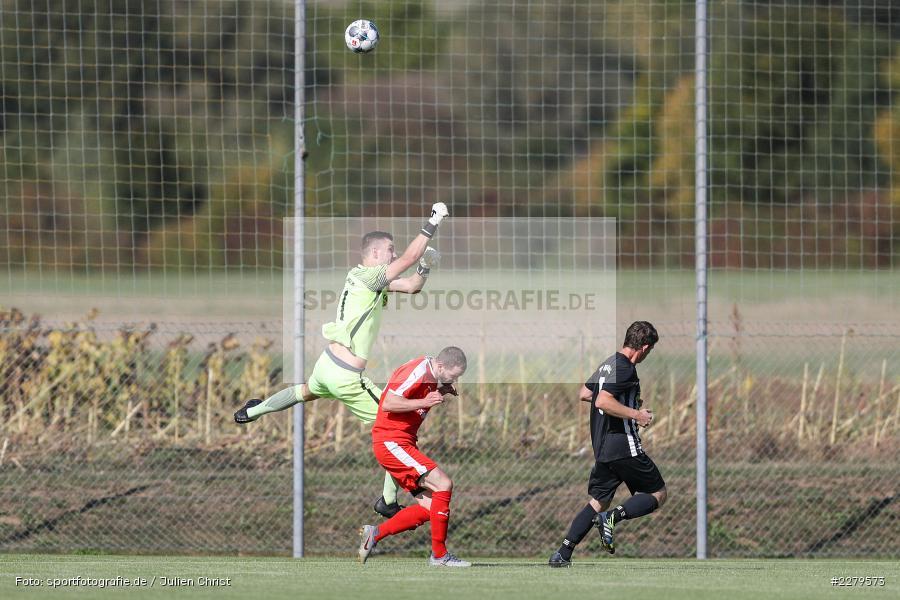 Christoph Geis, Felix Kühnlein, TV Wasserlos, TSV Retzbach, Bezirksliga Unterfranken West, 20.09.2020 - Bild-ID: 2279573