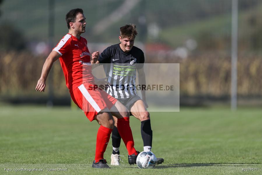 Maximilian Köstler, Michael Uftring, TV Wasserlos, TSV Retzbach, Bezirksliga Unterfranken West, 20.09.2020 - Bild-ID: 2279577