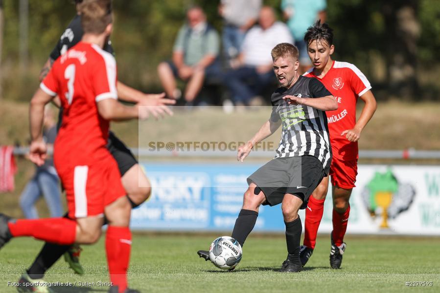 Philipp Gößwein, TV Wasserlos, TSV Retzbach, Bezirksliga Unterfranken West, 20.09.2020 - Bild-ID: 2279593