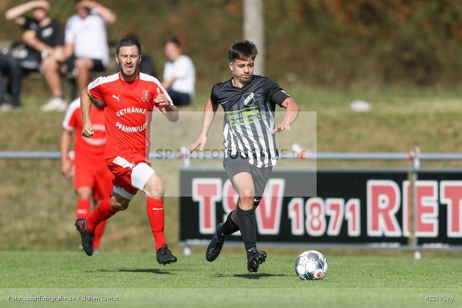 Dominik Hehrlein, TV Wasserlos, TSV Retzbach, Bezirksliga Unterfranken West, 20.09.2020 - Bild-ID: 2279596