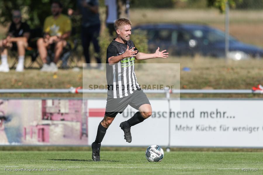 Emotion, Ärger, Philipp Gößwein, TV Wasserlos, TSV Retzbach, Bezirksliga Unterfranken West, 20.09.2020 - Bild-ID: 2279607