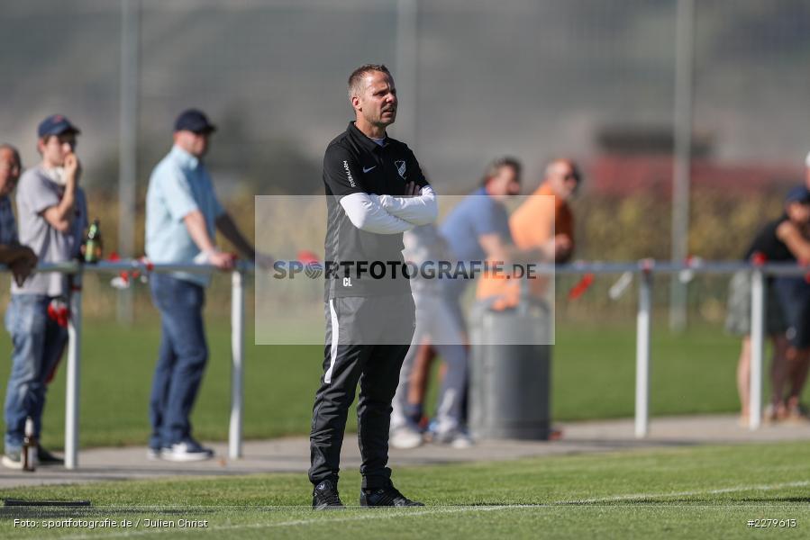 Trainer, Carsten Lanik, TV Wasserlos, TSV Retzbach, Bezirksliga Unterfranken West, 20.09.2020 - Bild-ID: 2279613