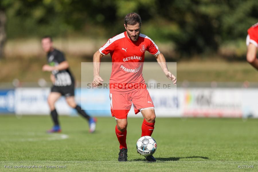 Steven Franz, TV Wasserlos, TSV Retzbach, Bezirksliga Unterfranken West, 20.09.2020 - Bild-ID: 2279614