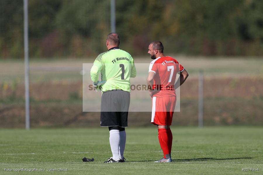 Trainer, Tobias Leis, Patrick Emmel, TV Wasserlos, TSV Retzbach, Bezirksliga Unterfranken West, 20.09.2020 - Bild-ID: 2279634