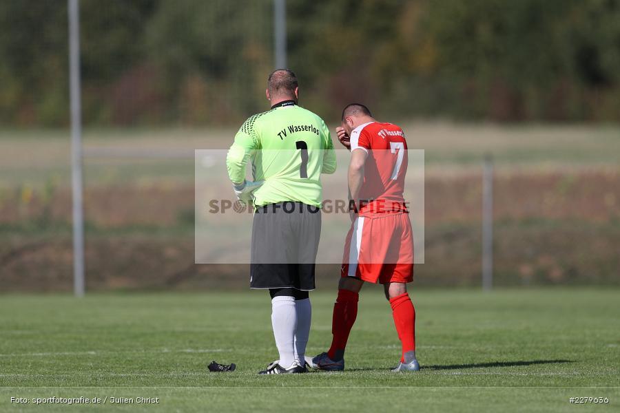 Trainer, Tobias Leis, Patrick Emmel, TV Wasserlos, TSV Retzbach, Bezirksliga Unterfranken West, 20.09.2020 - Bild-ID: 2279636