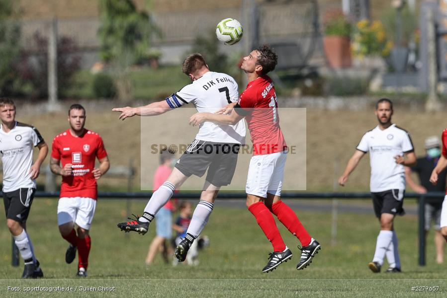Steffen Lochmann, Louis Baur, Kreisklasse Würzburg, Gruppe 3, FC Karsbach, DJK Fellen, 20.09.2020 - Bild-ID: 2279657