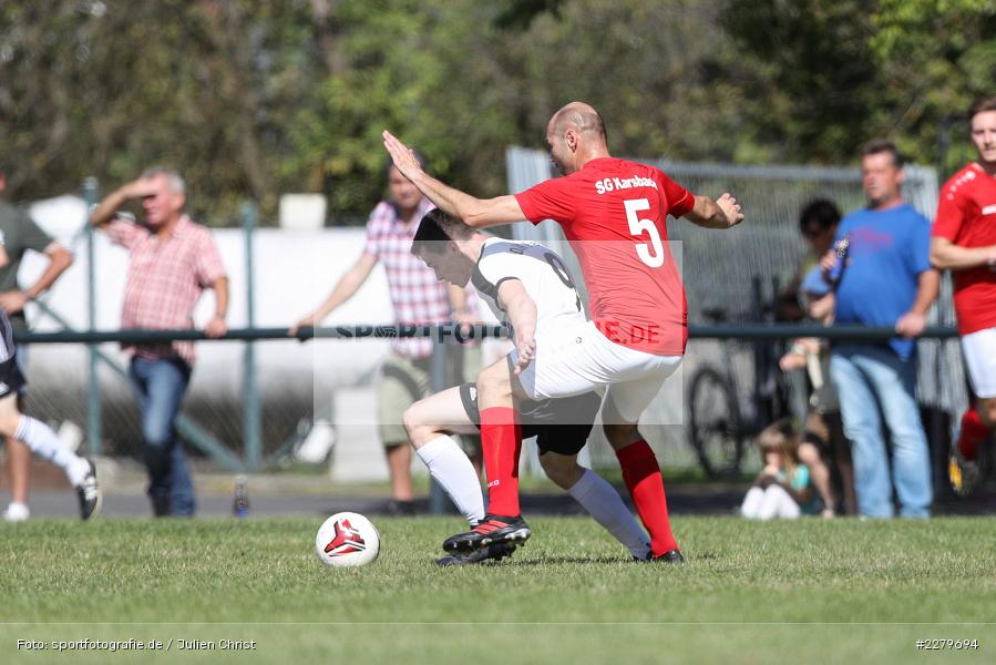 Markus Renner, Julius Schneider, Kreisklasse Würzburg, Gruppe 3, FC Karsbach, DJK Fellen, 20.09.2020 - Bild-ID: 2279694