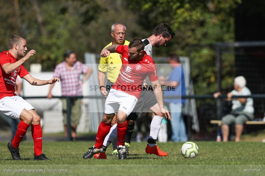 Daniel Albert, Johannes Fischer, Kreisklasse Würzburg, Gruppe 3, FC Karsbach, DJK Fellen, 20.09.2020 - Bild-ID: 2279709