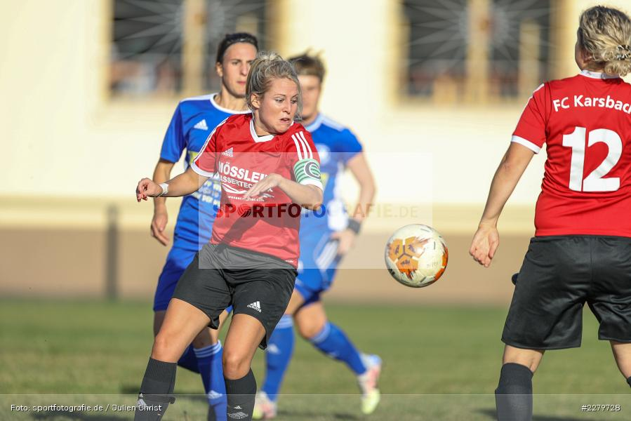 Marie Theres Franz, 20.09.2020, Landesliga Nord Frauen, SpVgg Germania Ebing, FC Karsbach - Bild-ID: 2279728