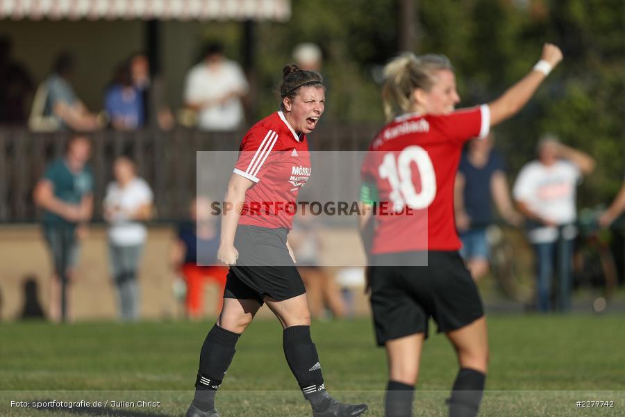 Marie Theres Franz, Laura Rosenberger, 20.09.2020, Landesliga Nord Frauen, SpVgg Germania Ebing, FC Karsbach - Bild-ID: 2279742