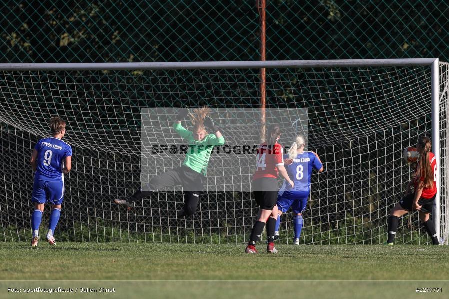 Melissa Mennig, Lisa Sommer, 20.09.2020, Landesliga Nord Frauen, SpVgg Germania Ebing, FC Karsbach - Bild-ID: 2279751